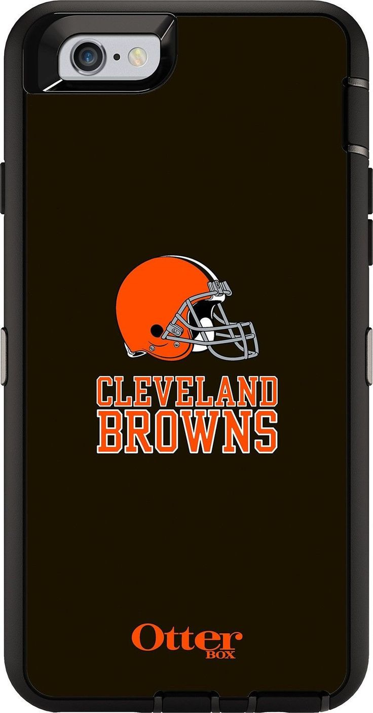 OtterBox DEFENDER iPhone 6/6s Case - Retail Packaging - NFL BROWNS OtterBox