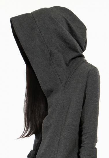 Ovate Grey Valhalla Hooded Sweatshirt / Craft & Culture