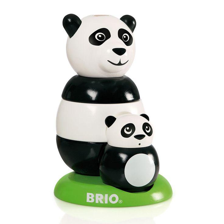 BRIO - Toddler Wooden Stacking Panda