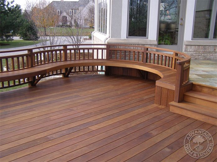 24 best images about deck ideas on pinterest deck for Hardwood outdoor decking