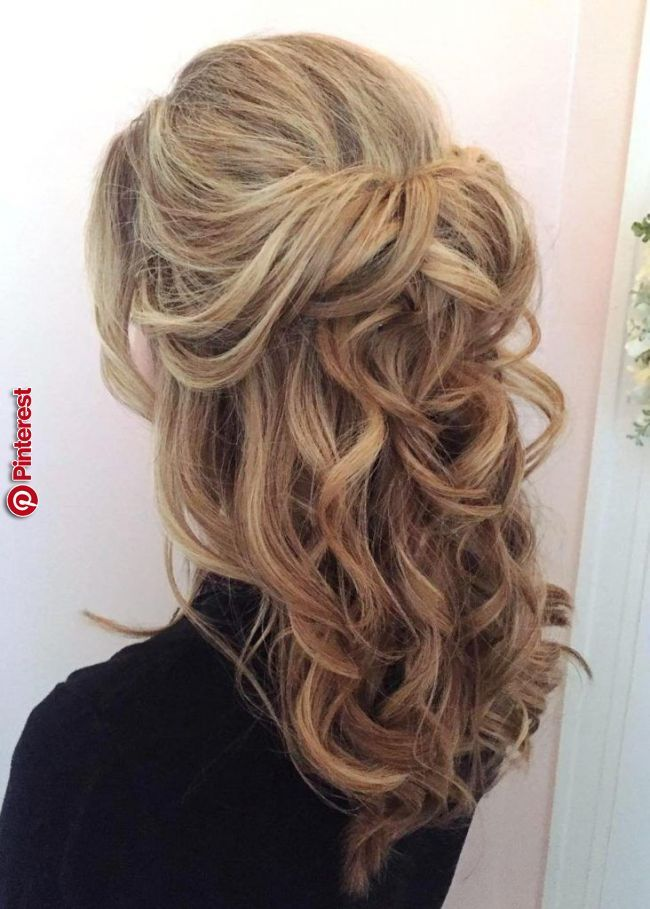 33 Gorgeous Half Up Half Down Hairstyles Ideas With Images Down Hairstyles For Long Hair