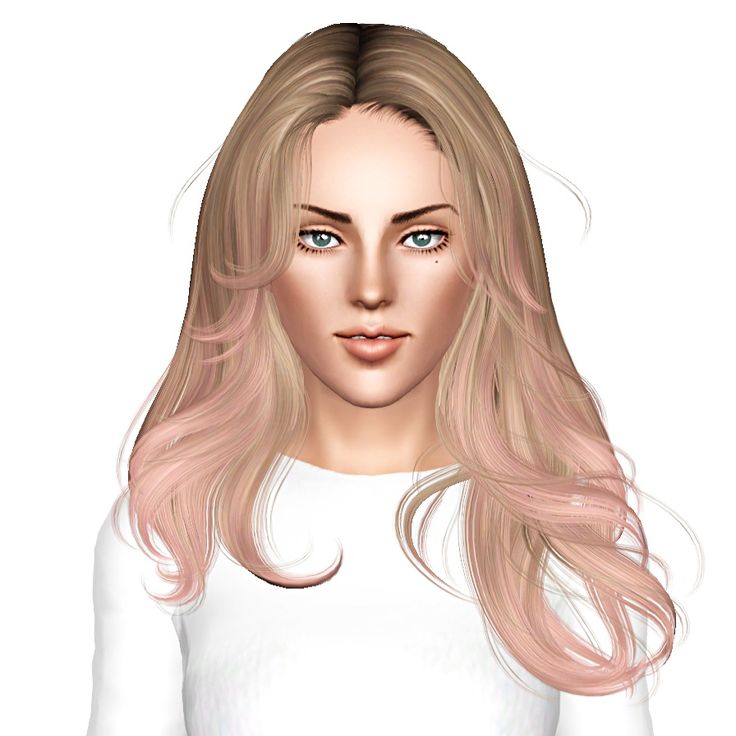 Newsea Equinoxe hairstyle retextured by July Kapo for Sims 3 - Sims Hairs - http://simshairs.com/newsea-equinoxe-hairstyle-retextured-by-july-kapo/