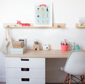 Bureau enfant fauteuil chaise eames