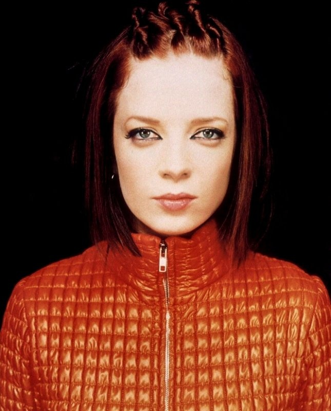 Shirley Manson in the 'Version 2.0' jacket