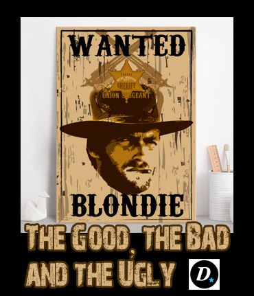 SOLD! Many Thanks to the buyer! The Good, the Bad and the Ugly Poster  #thegoodthebadandtheuply #poster #movie #blondie #western #classicmovie #sergioleone #spaghettiwestern #clinteastwood