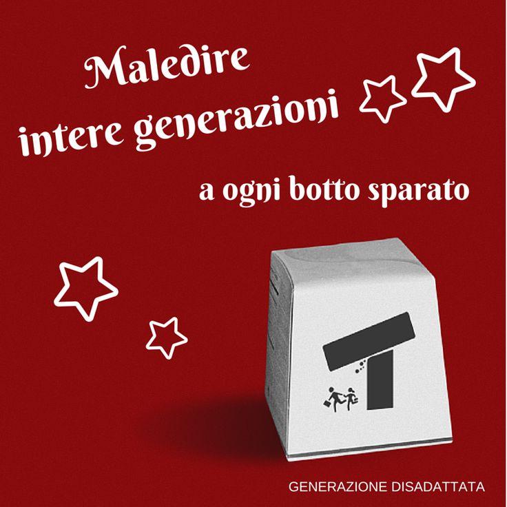 Maledire intere generazioni a ogni botto sparato.  #natale #christmas #festa #botti #capodanno #maledizioni #rosso #red #umorismo #ironia #sarcasmo #cinismo