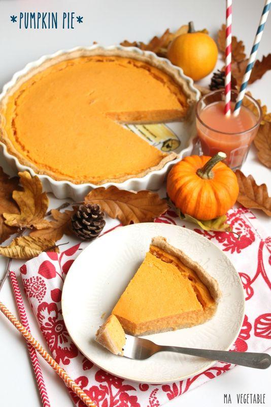 SPECIAL HALLOWEEN Pumpkin Pie - Ma Végétable  -- Tarte sucrée à la Courge (toutes variétés confondues telles citrouille, courge, potimarron)
