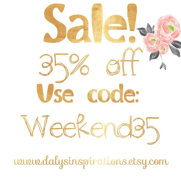 Use coupon code: weekend35 for 35% off. No minimum required. Coupon code expires Sunday at midnight 💕
