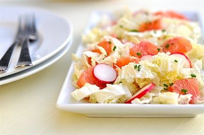 Great GF and raw foods: Cabbages, Gf Foods, Foods Ellowballoo, Radish Cabbage Salad, Food Vegetables, Raw Foods, Gluten Free, Nourishing Meals, Grapefruit