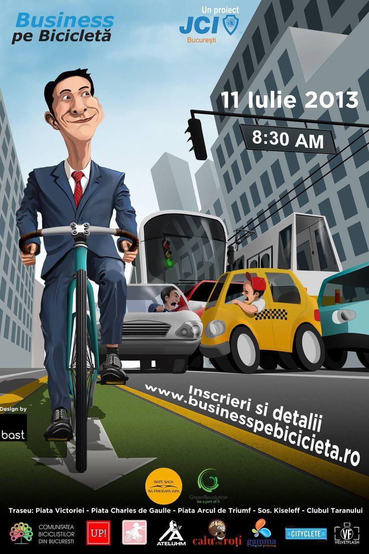 Business pe Bicicleta: unul dintre cele mai cool evenimente ale anului! Mergi?