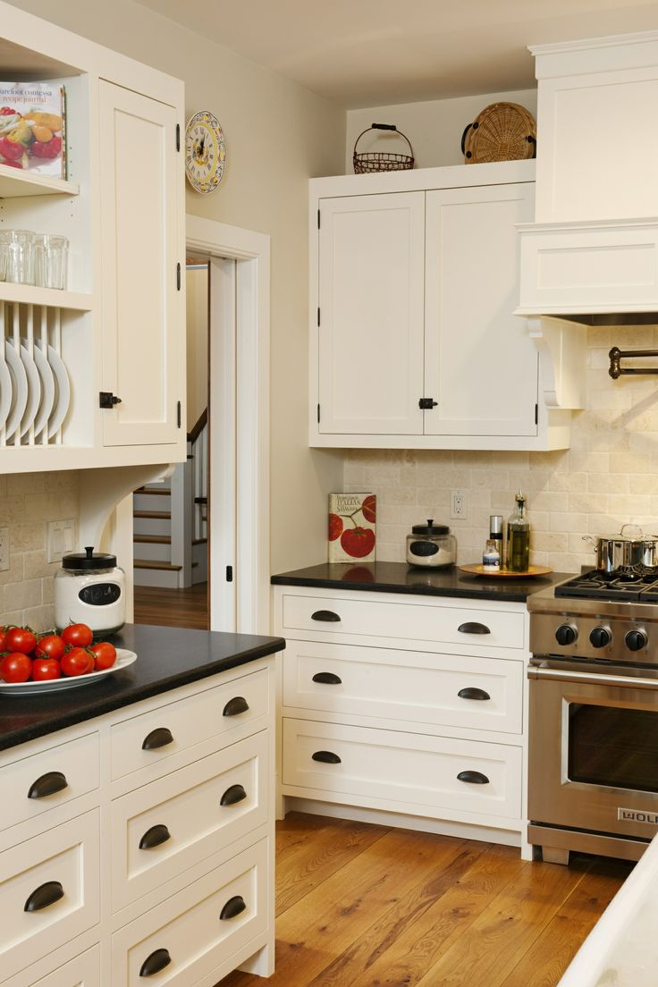 Cherry butcher block top 1 1 2 quot x 26 quot x38 quot kitchen island top ebay - Countertops Made Of Black Absoluto Honed Granite From New View Marble Were Chosen To Line The