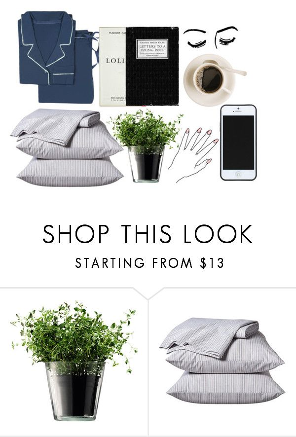 """""""SLEEP TIGHT"""" by go1df1sh ❤ liked on Polyvore featuring LSA International, Thomas O'Brien and Kate Spade Saturday"""