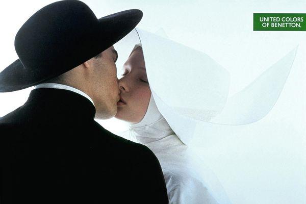 Benetton - Priest And Nun