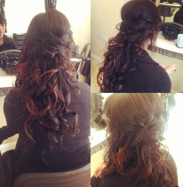 Quinceanera Hairstyles On The Side : Hermosos peinados de quinceañera en instagram quince hairstyles