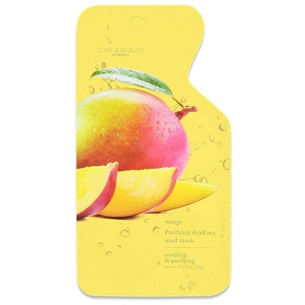 Forever21 Mango Purifying Mud Mask ($1.90) ❤ liked on Polyvore featuring beauty products, skincare, face care, face masks, white, facial mud mask, deep cleansing clay mask, deep cleansing facial mask, clay face mask and face mask