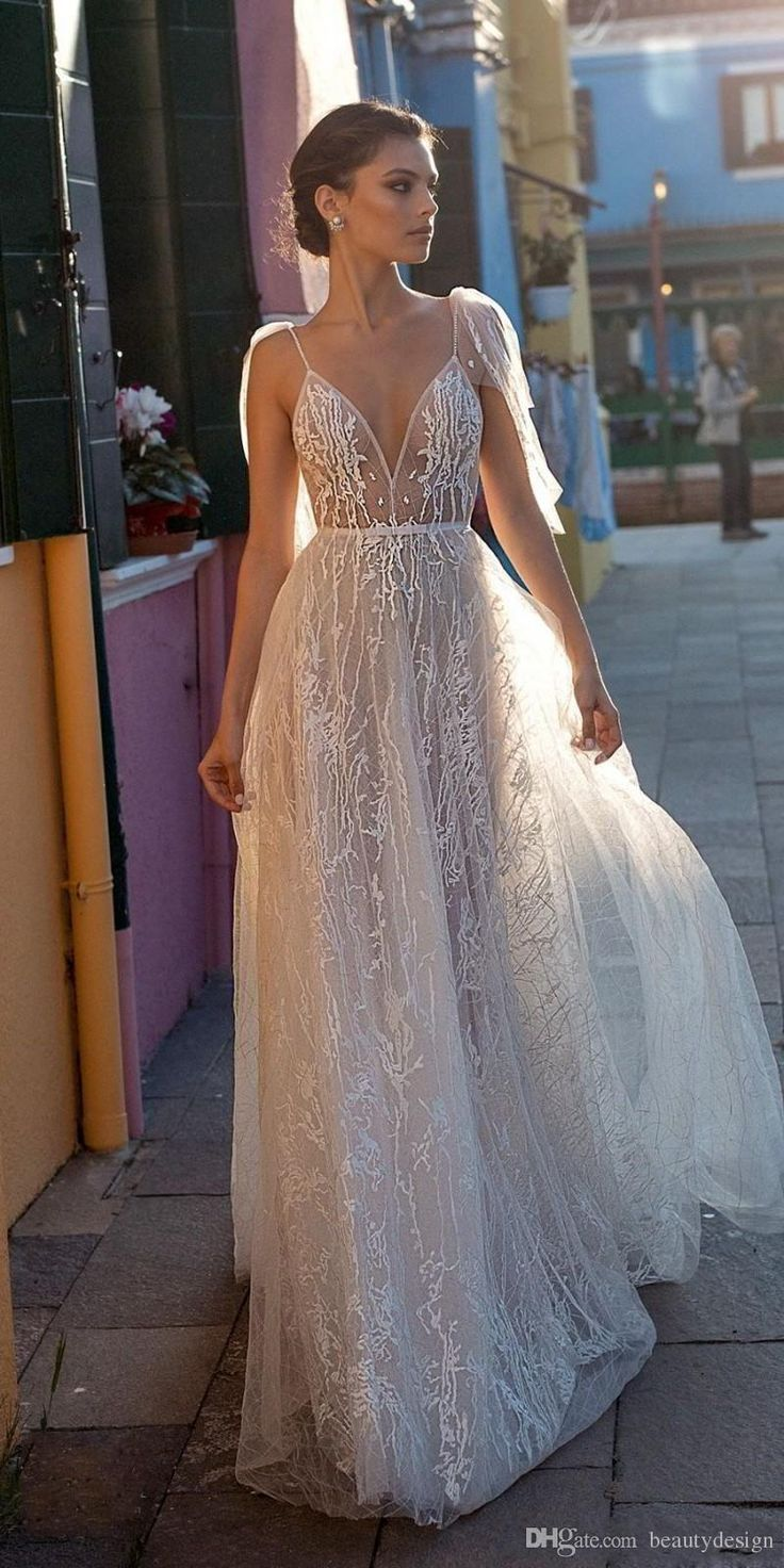 Gali Karten 2020 Sexy Beach Wedding Dresses