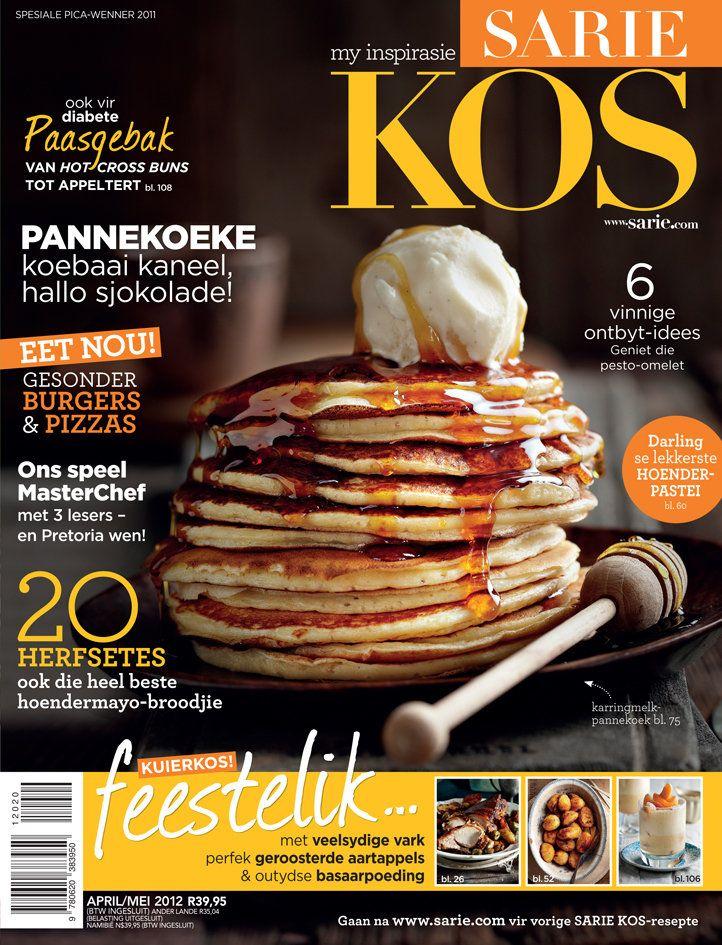 Dís al die lekkerte wat jy in die April/Mei 2012 uitgawe van SARIE KOS kan verwag! / SARIE KOS April/May 2012 issue
