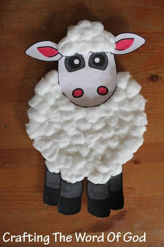 Paper Plate Sheep Day 3