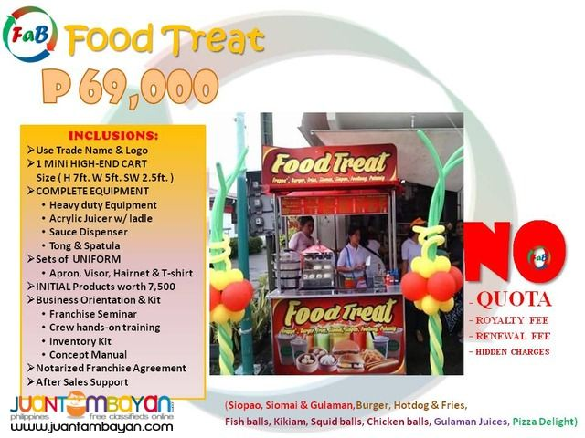 Business Franchising , We provide the Best Deal of Food cart Franchise in the whole Philippines. Very affordable Food Cart Franchise Fast…