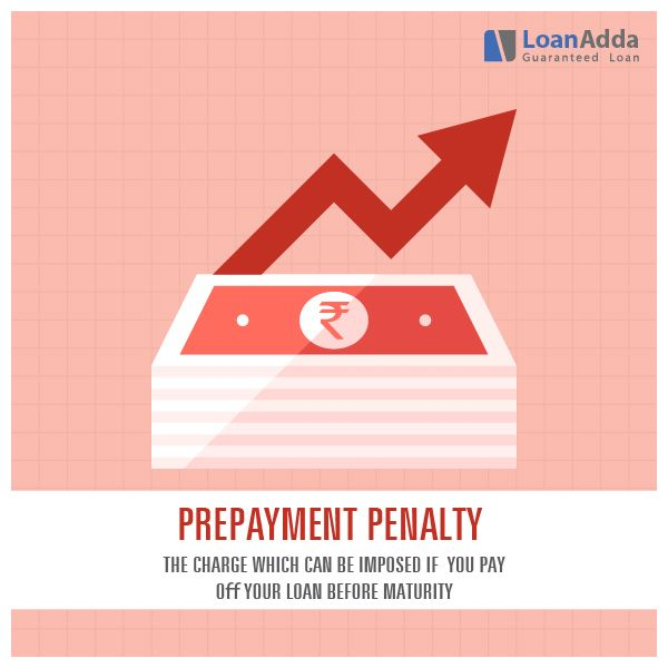 Prepayment Penalty - The charge which can be imposed if you pay off your loan before maturity.