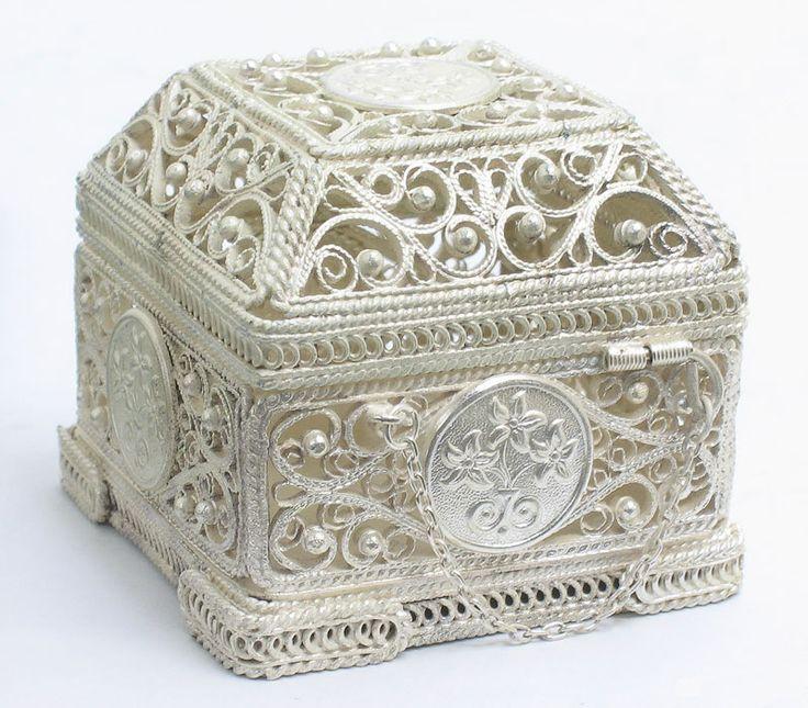 Russian Filigree Box