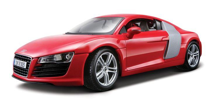 Maisto Premiere Edition - Audi R8 Model Car 1:18 - Red (36143)  Manufacturer: Maisto Enarxis Code: 018121 #toys #Maisto #miniature #cars #Audi