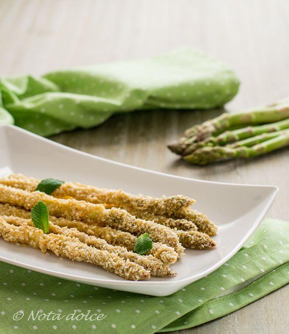 Asparagi con semi di sesamo e yogurt ricetta facile