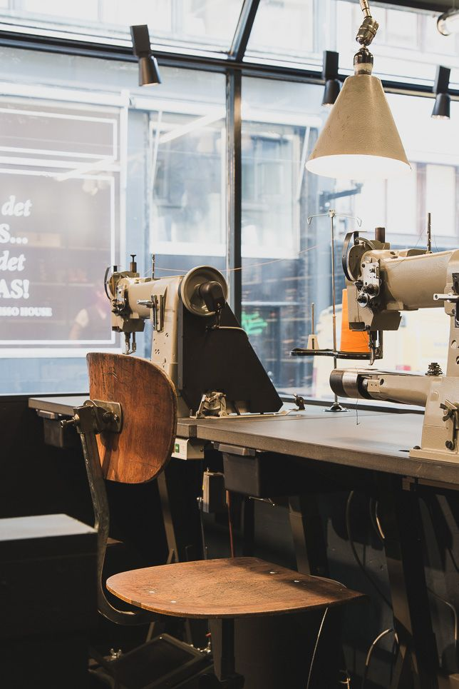 Welcome to Nudie Jeans Repair Shop JKBG, Stockholm | Nudie Jeans