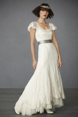 Anthropologie Victoria's Reign wedding gown. So pretty!