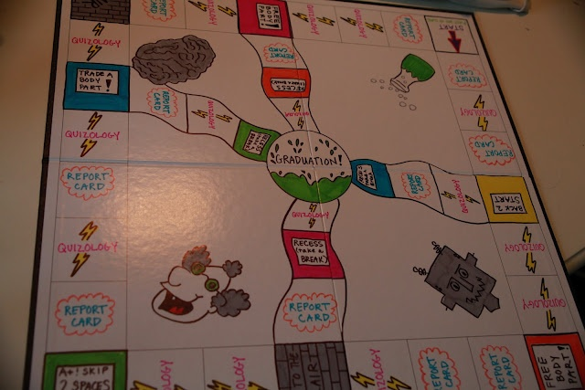 Make your own  board game example:Running Amuck: Home-Made Game