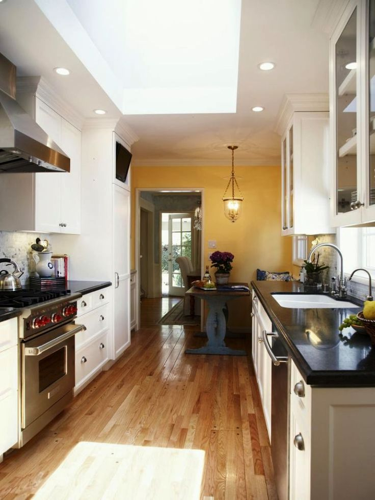 small galley kitchen makeovers Kitchen