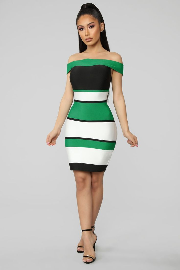 Park Art|My WordPress Blog_Green And Black Dress Combination