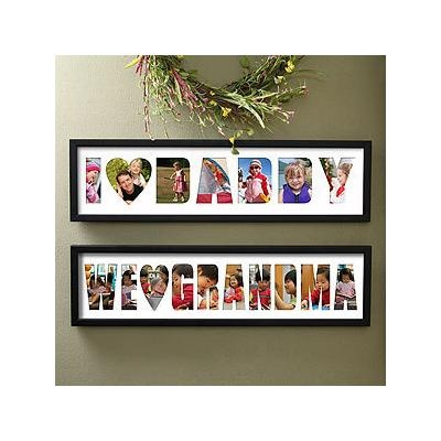 Oh wow this Personalized Name Photo Collage Frame - Loving Them is so cool! A great gift idea for anyone!