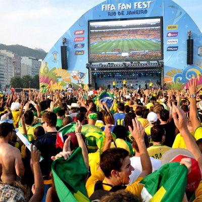 FIFA Fan Fest 2014 - RJ - Postado na data de 25.06.14