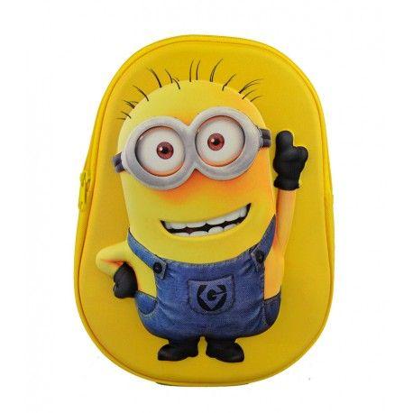 Minions rygsæk - køb den her hos Zachos.dk - hurtig levering