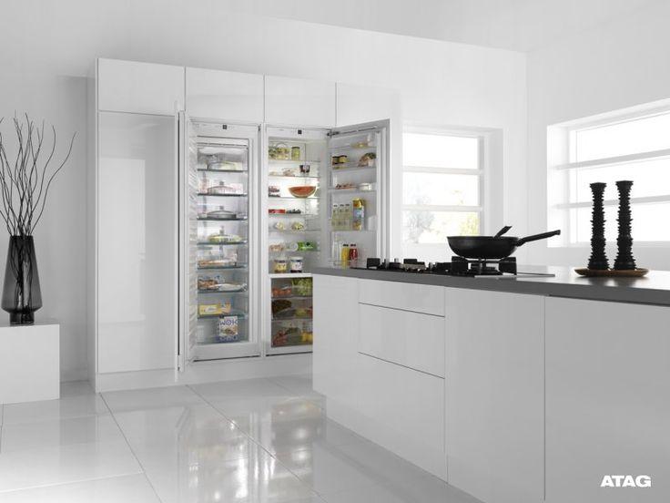 inbouw dubbele koelkast - Google zoeken