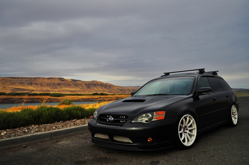 Subaru Legacy Wagon 2005 Lowered