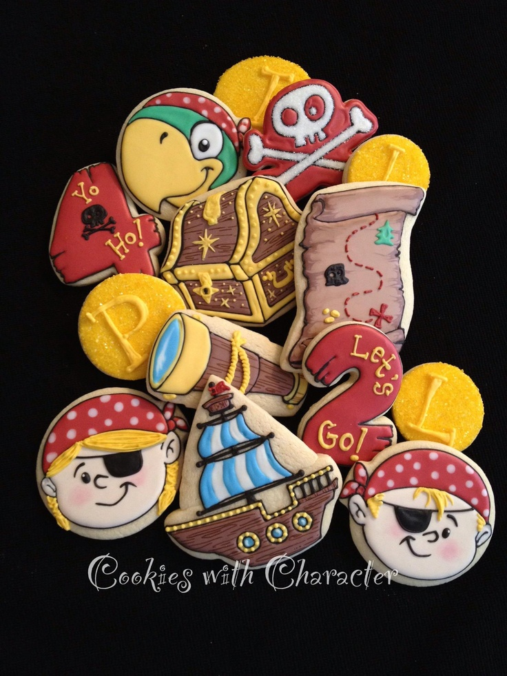 more Pirate cookies                                                                                                                                                                                 More