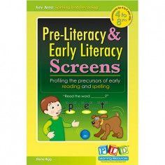 Pre-Literacy & Early Literacy Screens