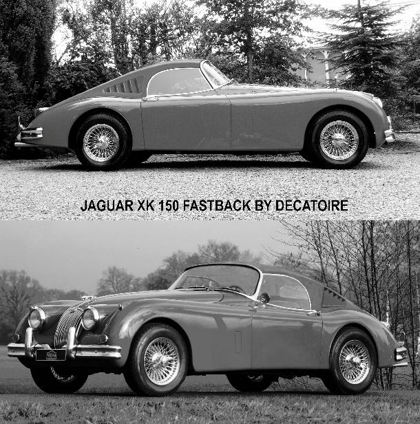 Bmw Z4 Fastback: 7 Best Jaguar Xk 150,jaguar Xk 150 Ots,xk 150 Roadster