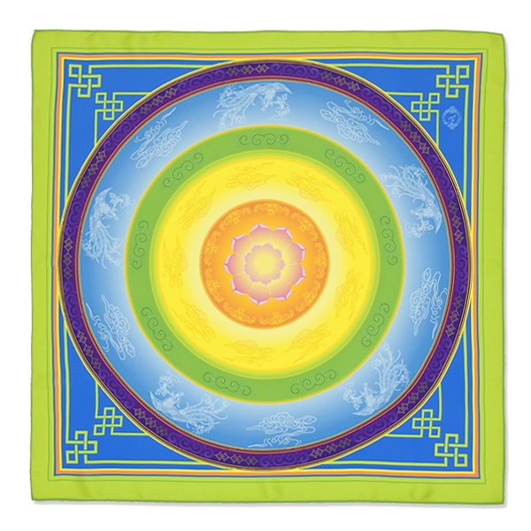 lovely scarf inspired from  Shen Yun shows