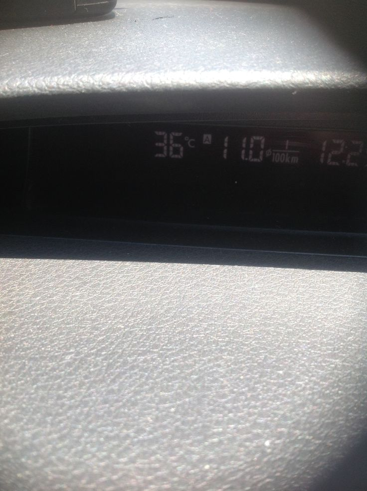 It's a bit warm out here today