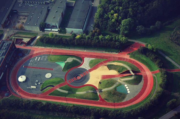 Athletic Track Athletics Exploratorium in Odense, Denmark