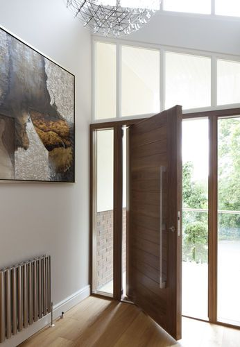 pivot door with offset axis OSLO Urban Front Ltd