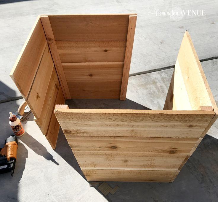 $15 Modern Cedar Planter