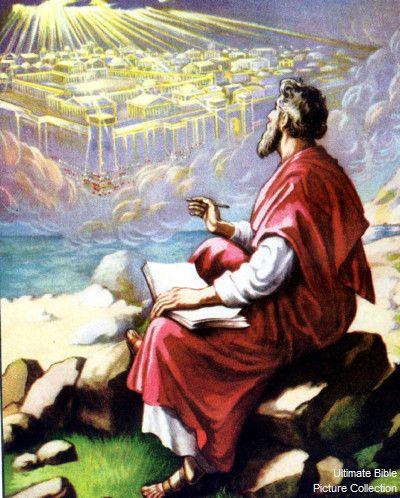 Revelation 15 Bible Pictures: John's vision