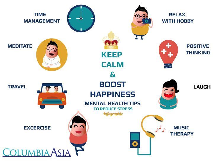 Berikut 8 tips untuk mengurangi stress. Ternyata, tertawa dan mendengarkan musik merupakan salah satu hal sederhana yang mampu mengurangi stress. Selamat mencoba!