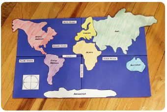 Map Scale Activity, Map Scale Lesson, Map Scale Project ... also on this website: art & math