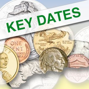 The Keys to your Collection<br />Those elusive Key dates
