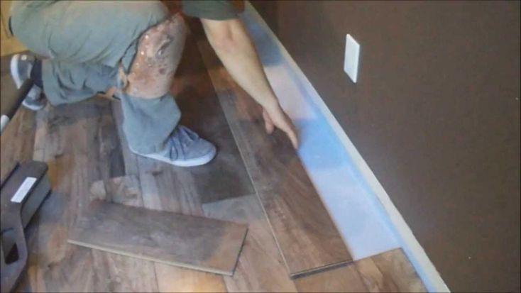 Installing Laminate Flooring Around Kitchen Cabinets